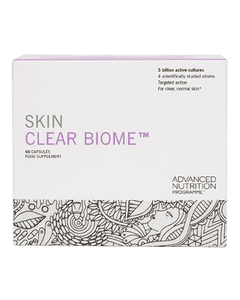 Skin Clear Biome food supplement packaging